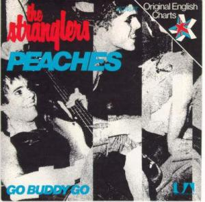 36248 AT G Peaches - German import with different cover The Stranglers  from The Stranglers singles